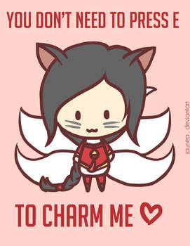 Ahri: LoL Valentine's Day