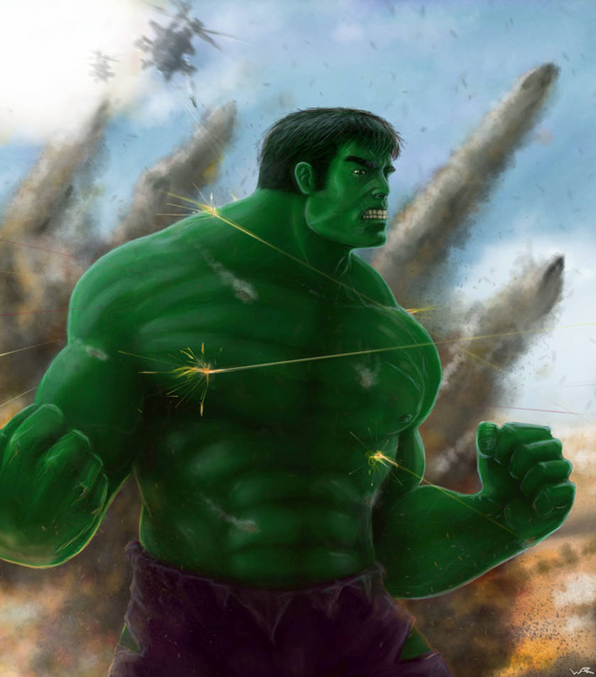 Hulk war by warsram