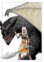 Dragongirl by warsram