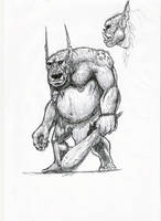 bat-troll sketch by warsram