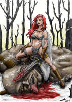 Red sonja by warsram