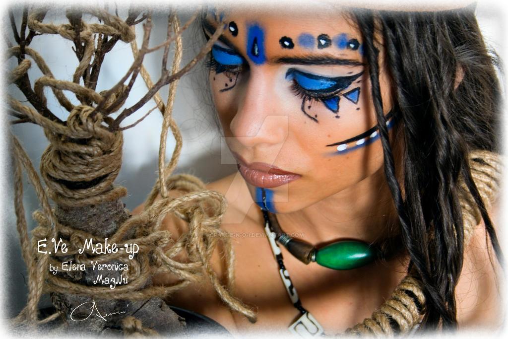 Warrior Princess Makeup Warrior Princess Triba...