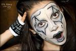 Sad Clown/Mime Show Makeup by CPA-x-e-n-o-i