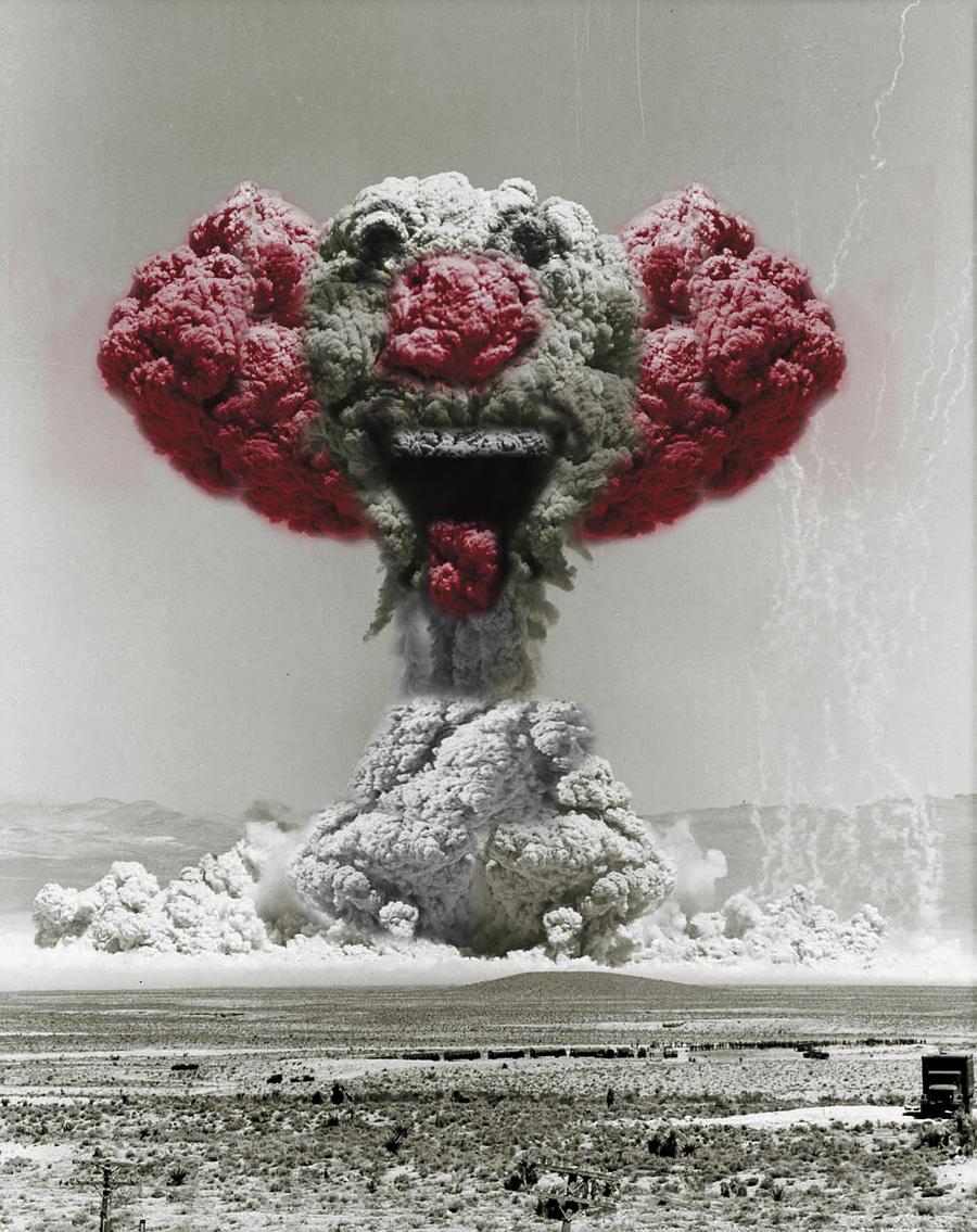 Mushroom Cloud Clown By Designertheo On DeviantART