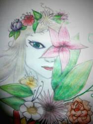 Maiden of the garden