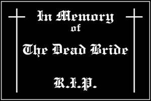 The Dead Bride by Gulimborsti