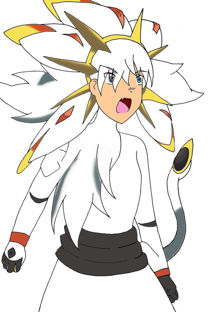 Pokemon human - Solgaleo by Phosphophyllite on DeviantArt