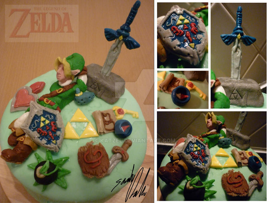 LoZelda Birthday Cake By Katzel On DeviantArt