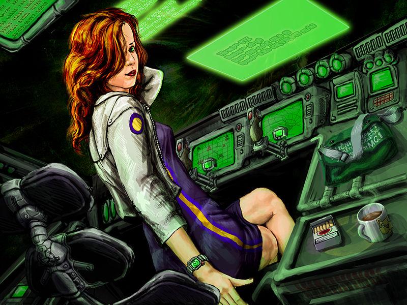 Spacehip girl