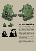 P2 Microtank by Bristow-Bailey