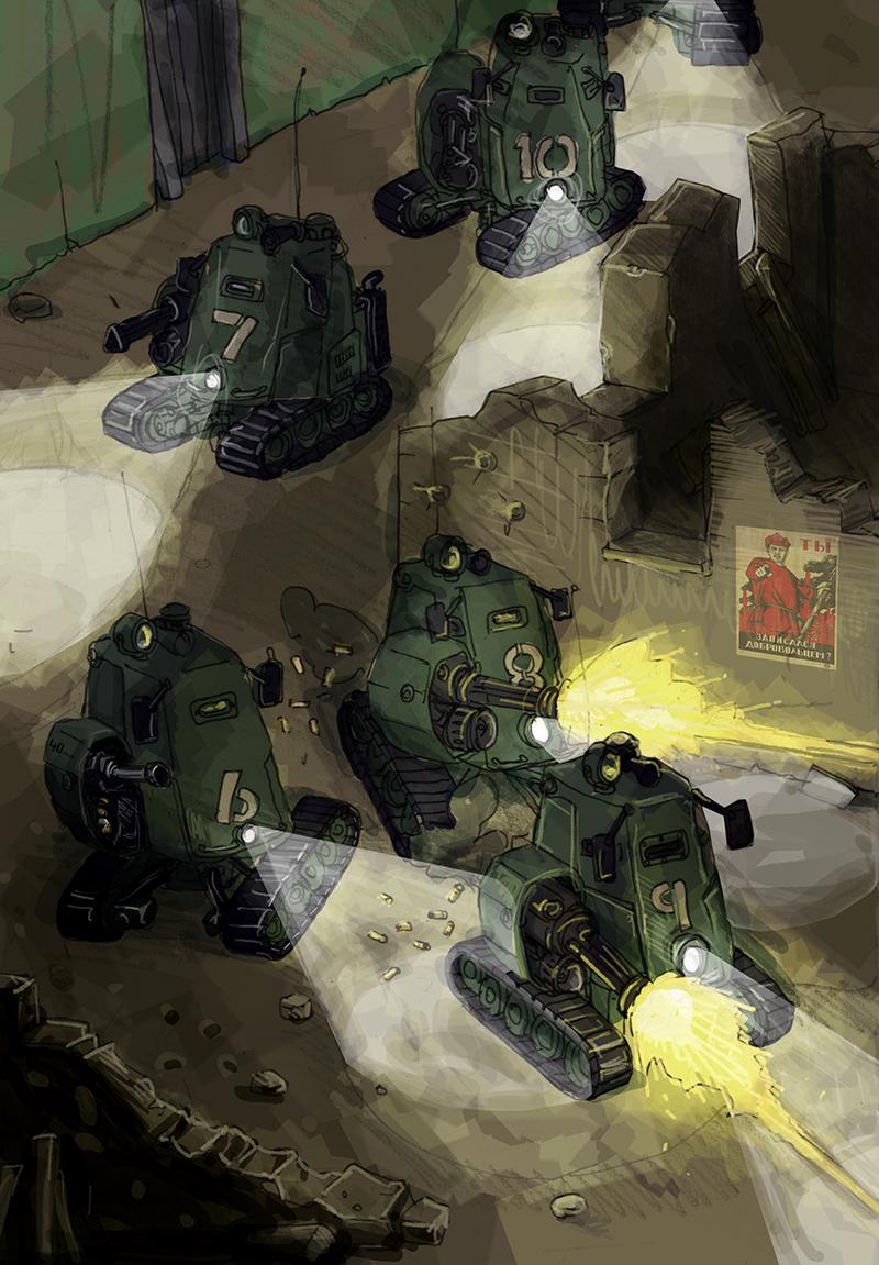 Microtank Patrol