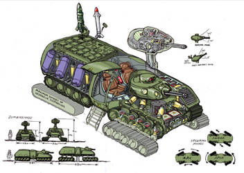 Tank Design by Bristow-Bailey