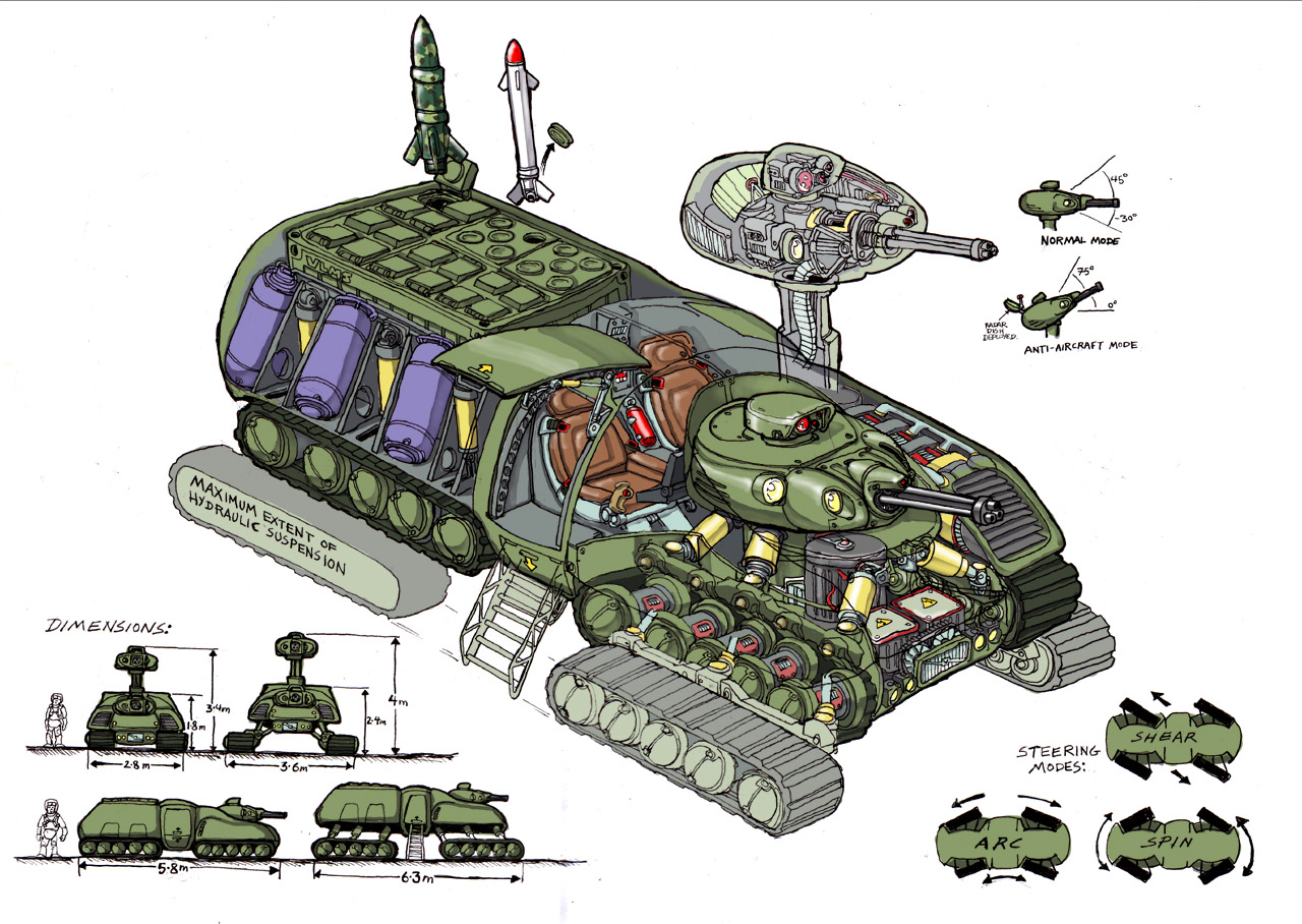 Tank Design by Bristow-Bailey