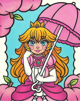 Princess Peach Portait
