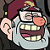 Grunkle Stan laughs by lesleyplz