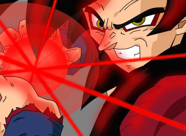 Goku Super Kamehameha X10 Goku super kamehameha byGoku Super Saiyan 4 Kamehameha X10