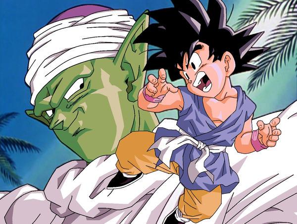 Goku and piccolo color by ruokdbz98 on deviantart - Petit sangoku ...