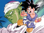Goku and Piccolo Color