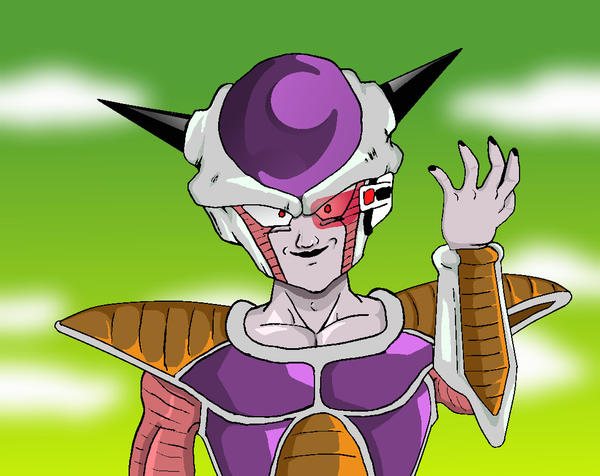 First Form Frieza by RuokDbz98 on DeviantArt