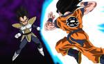 Goku Vs Vegeta V.1