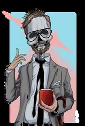 Skeleton man II by RuokDbz98