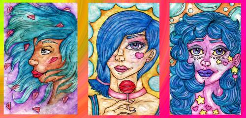 Watercolor Dabbles