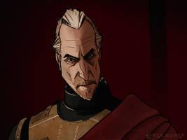 Tywin Lannister by SteveSykesArt