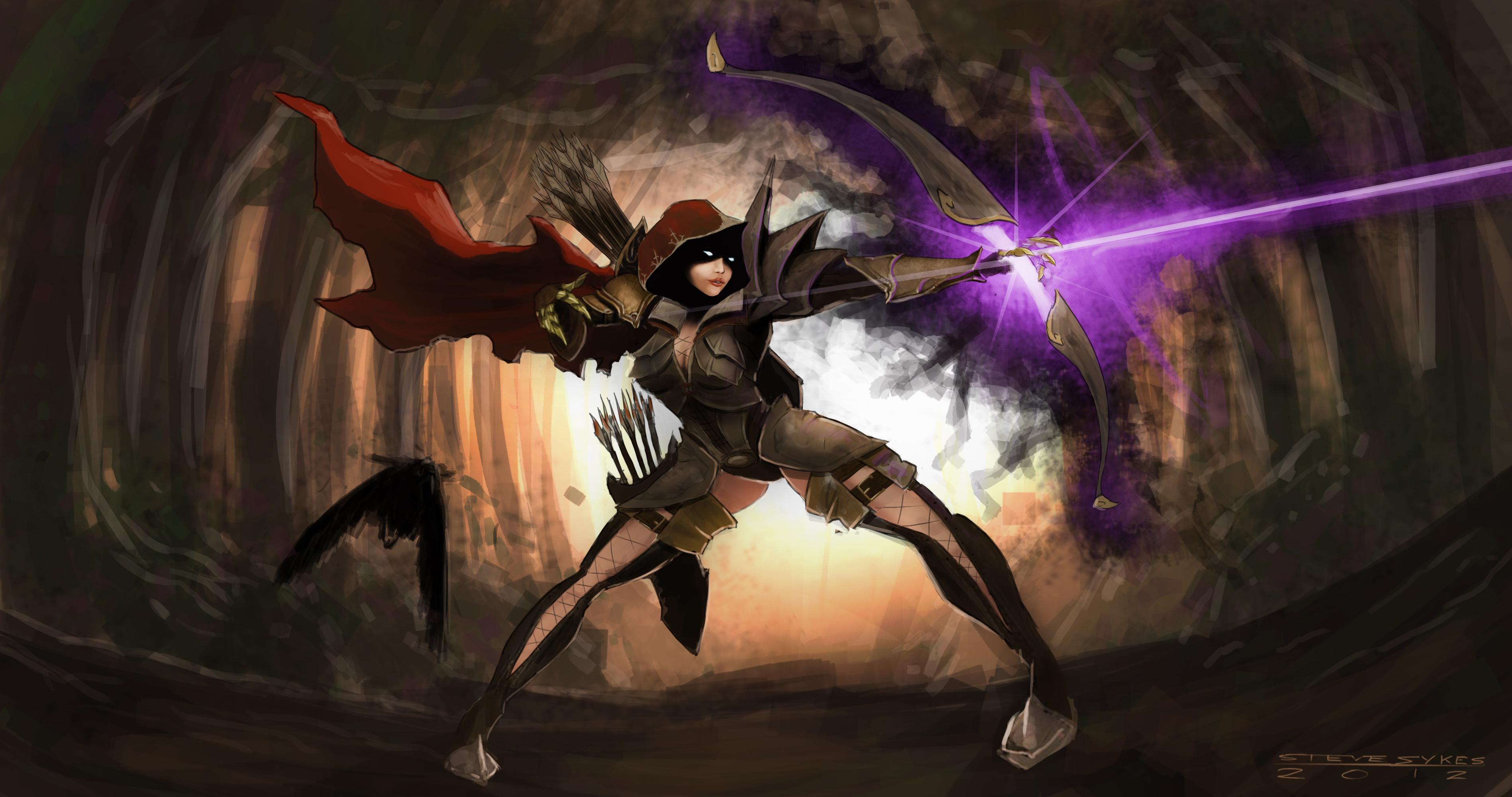 Demon Hunter By Stevesykesart On Deviantart