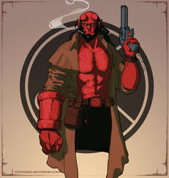 Hellboy by mirrors519