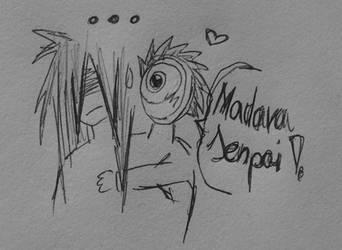 Madara and Obito by MadaraaUchiha