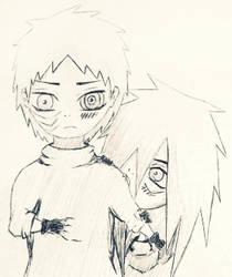 Obito and Madara by MadaraaUchiha