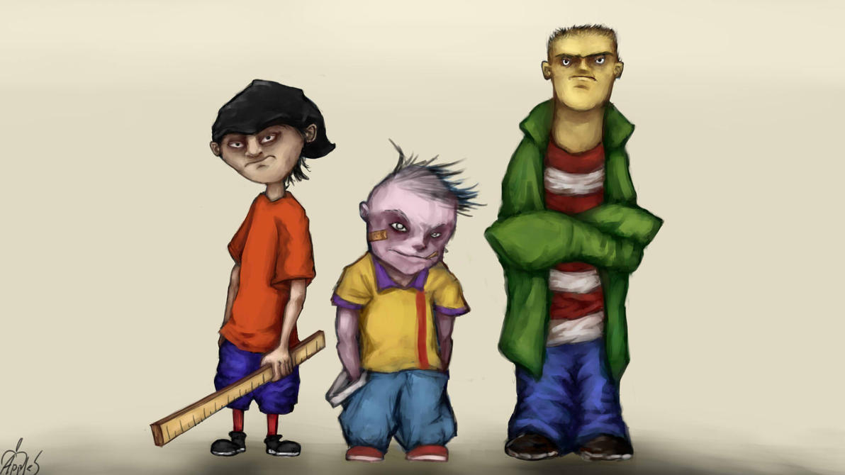 Ed Edd n Eddy by Apples-Malus