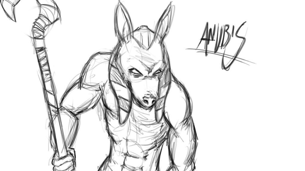 Anubis by Apples-Malus