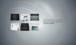Concave Icons by DeskModders