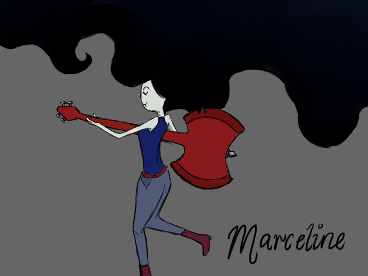 Marceline by jellyfishy-of-doom