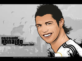 Cristiano Ronaldo vector art by akyanyme