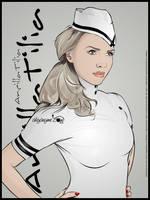 Ancilla Tilia white latex by akyanyme