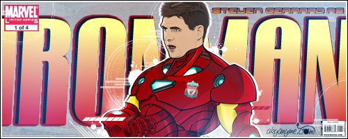 deviantART  Steven_Gerrard_as_Ironman_by_akyanyme