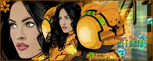 Megan Fox as Samus Aran by akyanyme