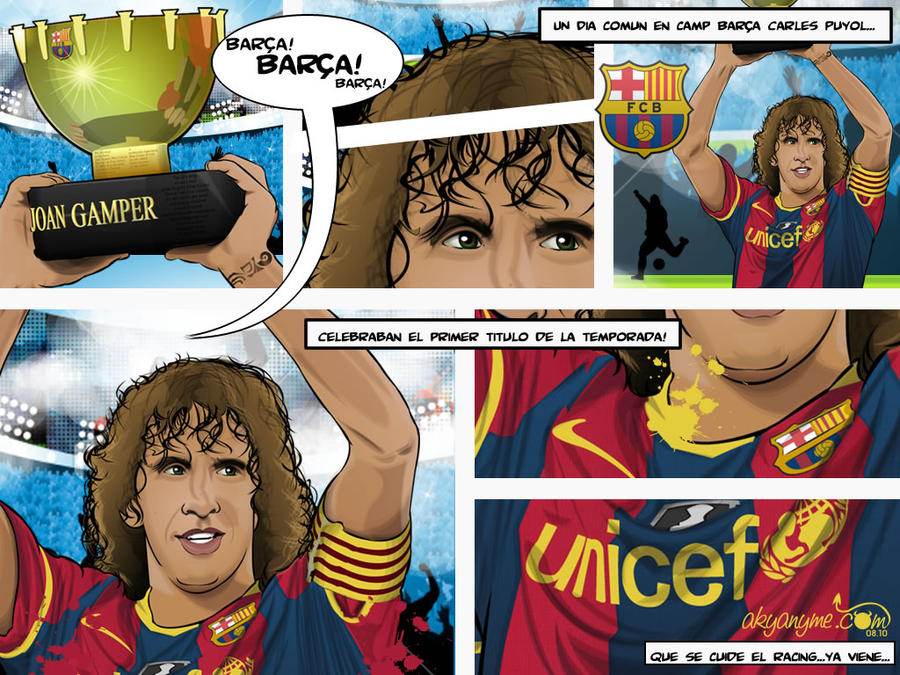 1 Carles Puyol FC Barcelona by akyanyme