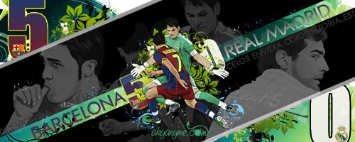 Barcelona 5 vs 0 Real Madriza by akyanyme