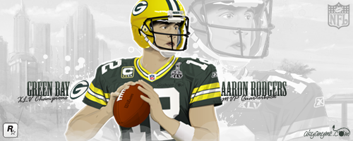 Aaron Rodgers QB by akyanyme