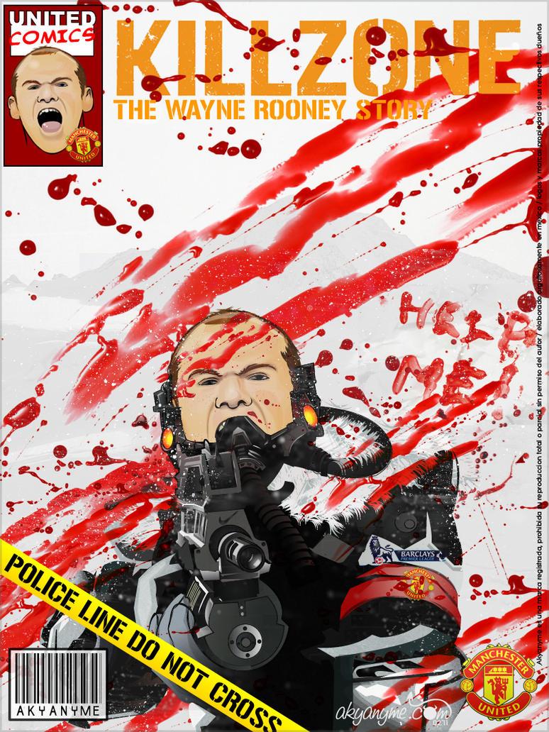Wayne Rooney Killzone by akyanyme