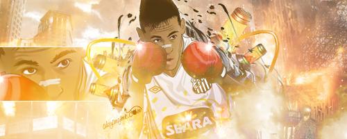 Neymar Santos Futebol Clube by akyanyme