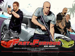 Fast and Furious 5 vector wall