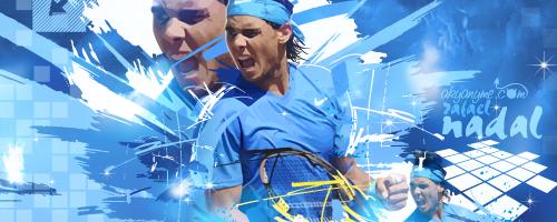 Rafael Nadal tennis by akyanyme