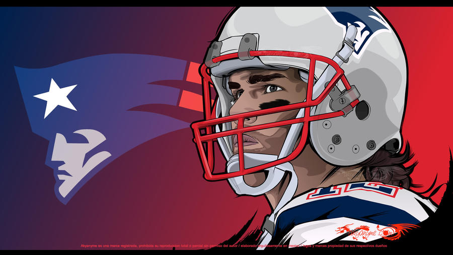 Tom Brady vector by akyanyme
