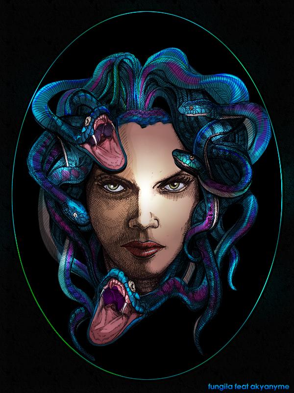 Medusa by akyanyme on deviantART