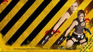 Lara Croft Tomb Raider fan art by akyanyme