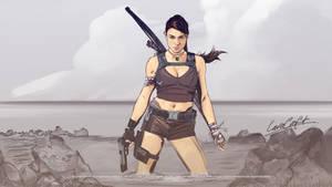 Lara Croft Tomb Raider Crossover by akyanyme
